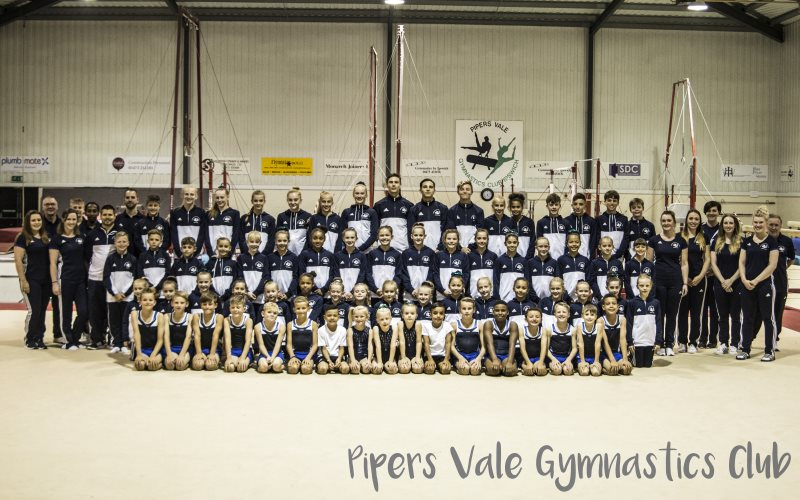 PipersVale Gymnasts and Coaches